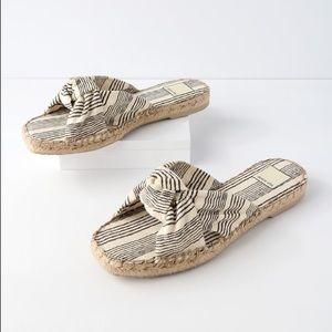 Dolce Vita Benicia Knotted stripe Slide Sandal 8